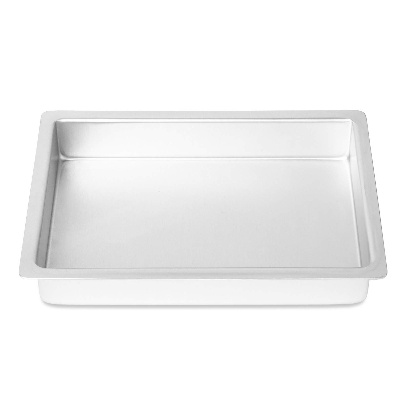 1 Pcs Professional Rectangular Aluminum Sheet Cake Pan 7 x 11 x 2 Inch #MWMN