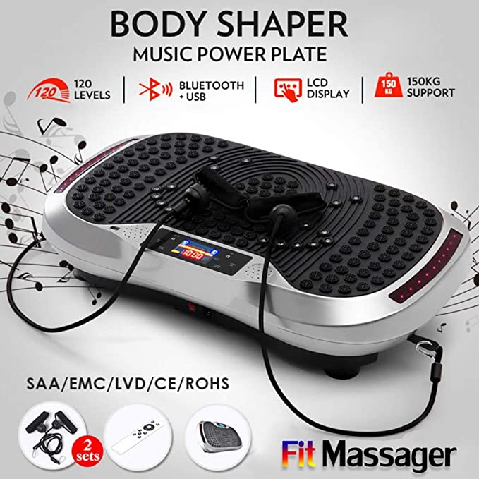 SZJ Power Plate - Reducción de Grasa Slim Vibration Plate Fitness ...