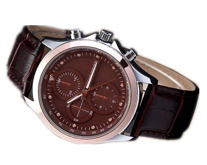 Correa de reloj de CURREN Wishar del negocio de los hombres de moda reloj de cuarzo de los hombres: Amazon.es: Relojes