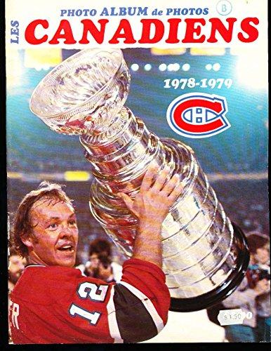 1978 Les Canadiens Photo Album Yearbook em