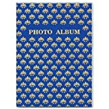 """Pioneer Flexible Cover Series Bound Photo Album, Designer Color Covers, Holds 24 5x7"""" Photos, 1 Per Page. Color: Red"""