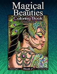 "Sequel to the Bestseller ""Magical Beauties Book 1"" by indie artist Cristina McAllister. Watch a Look Inside video of this book here: https://youtu.be/d8mvwcJmjSU Powerful, mysterious, captivating...these fantastical femmes glow with magical e..."