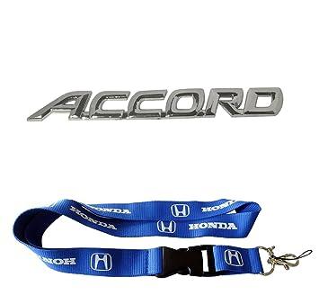 Amazon.com: Nueva 1pcs Honda Llavero Lanyard Badge Holder + ...
