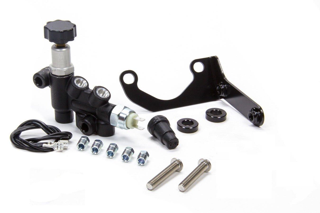A-Team Performance Wilwood Style Adjustable Knob Proportioning Valve Kit, 260-13190