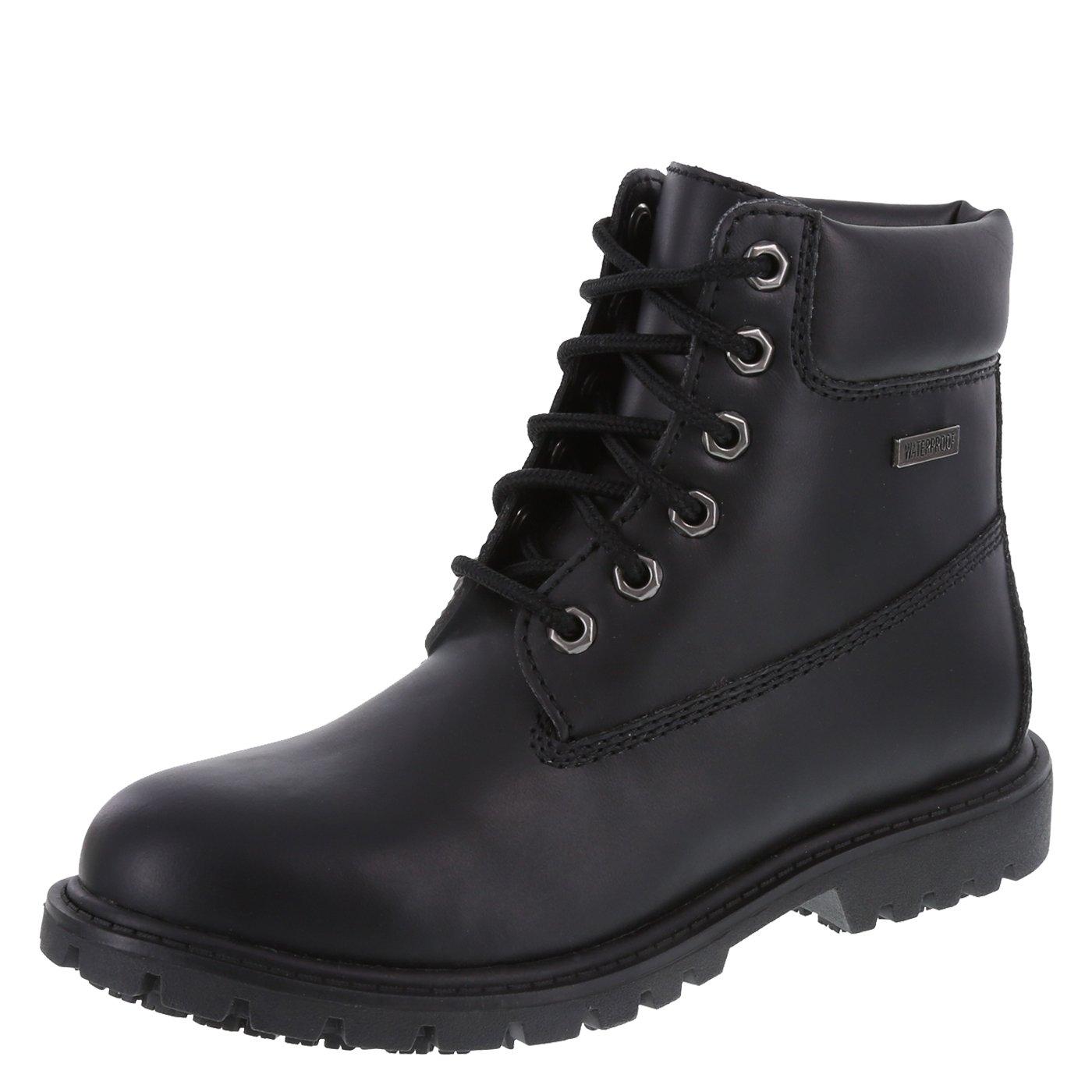 safeTstep Women's Black Slip-Resistant Antero Work Boot 6.5 Regular