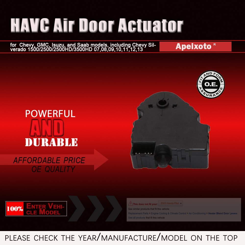 Heater Blend Door Levers Passenger Side Temperature Air door ...