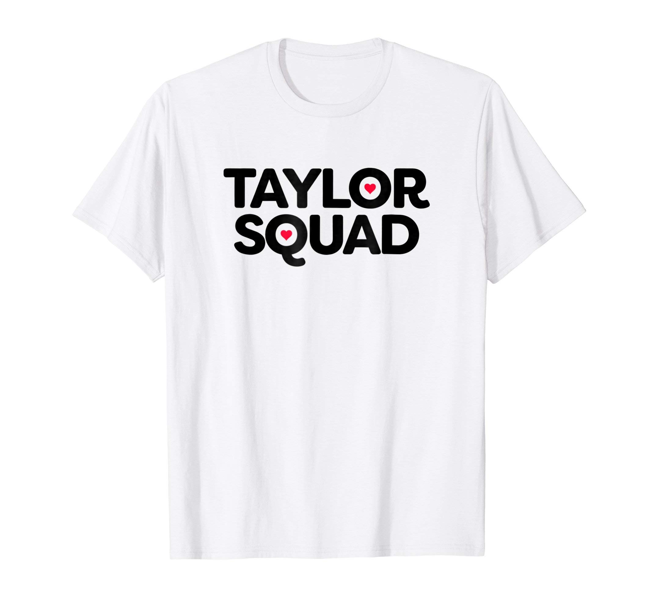 Love Heart Taylor Squad T-Shirt