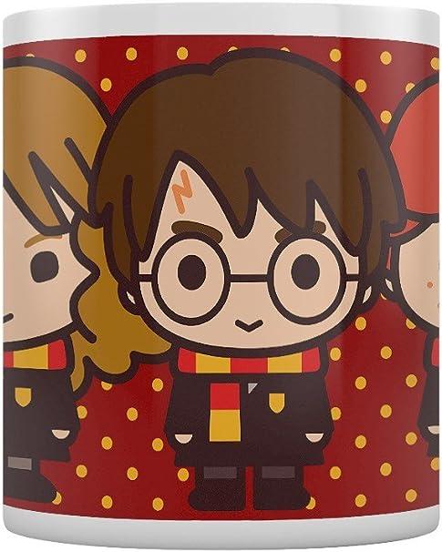 Pyramid International Harry Potter - Taza Chibi Harry Ron ...