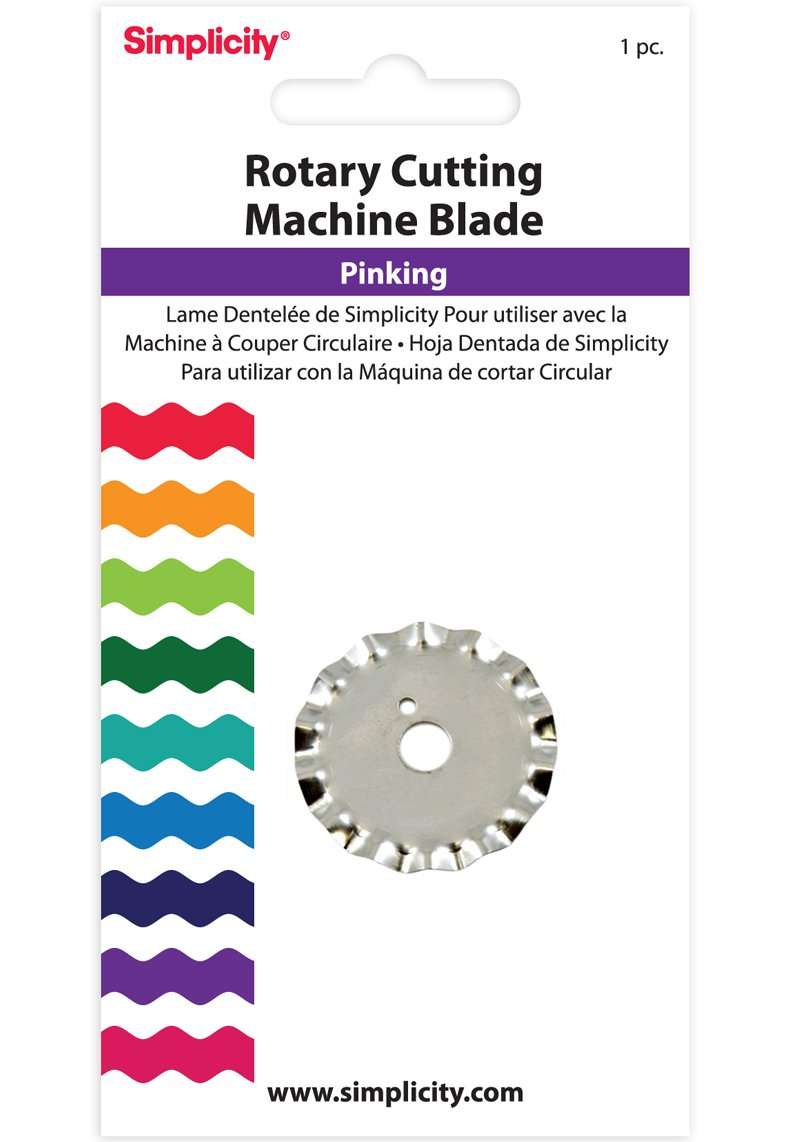 Simplicity Pinking Rotary Cutting Blade Simplicity Creative Group Inc 881972