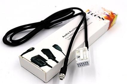 Auxiliary Input Bluetooth Streaming Adapter Cable for BMW 5 E60 E61 E63 E64 M5