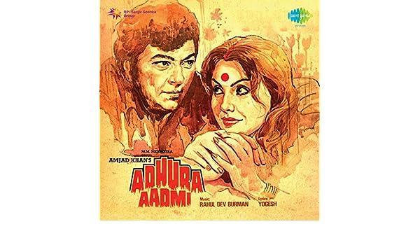 Adhura Aadmi Original Motion Picture Soundtrack By R D Burman On Amazon Music