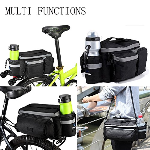 Onedayshop Multi Function Mountain Road Bicycle Bike Cycling Sport Waterproof 7L Rear Seat Bag Pannier Trunk Bag Bicycle Accessories by Onedayshop (Image #4)