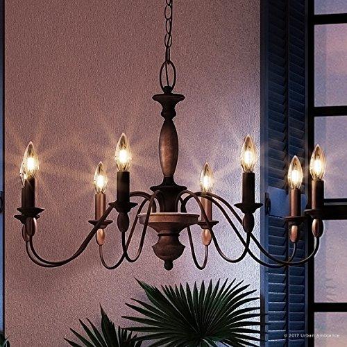 Luxury Americana Chandelier, Medium Size: 19.5