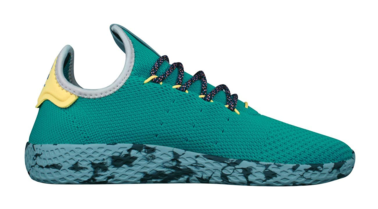 2d1e679c47ffec adidas Originals Pharrell Williams Tennis Hu Trainers in Light Blue  Amazon. co.uk  Shoes   Bags