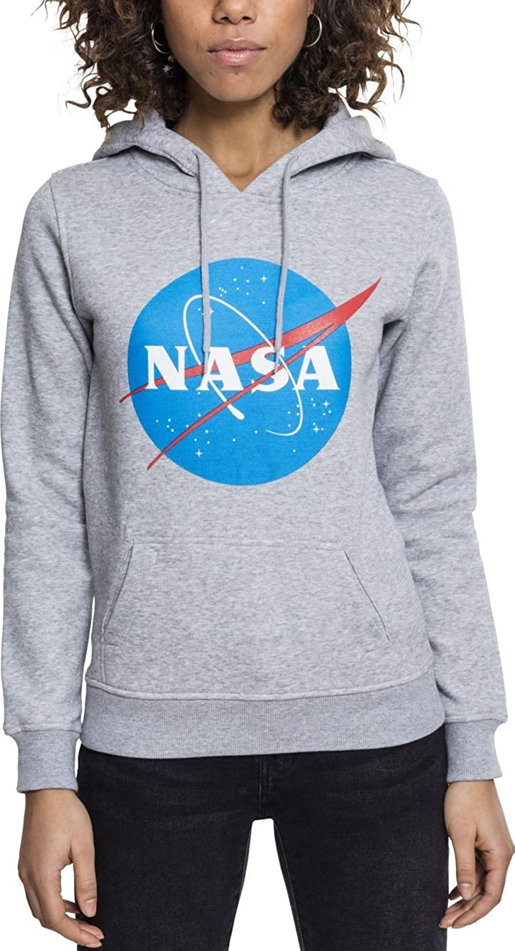 Mujer Ladies NASA Insignia Sudadera con Capucha misuq Mister t/é