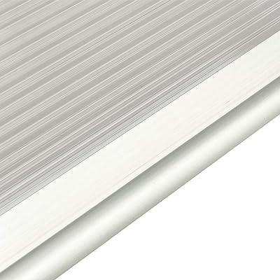Li qig HT-200 x 100 Household Application Door & Window Rain Cover Eaves Canopy Silver & Gray Bracket: Kitchen & Dining