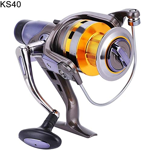 Spinning Fishing para KS Series 8 + 1 Carrete con rodamiento de Bolas Hielo Caña de Pescar y carretes Combos Full Metal Wire Cup Fish Wheel: Amazon.es: Deportes y aire libre