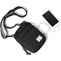 Small/Mini Over The Shoulder Bag Travel Passport for Men, Crossbody Bags for Women & Men, Small Messenger Travel Wallet