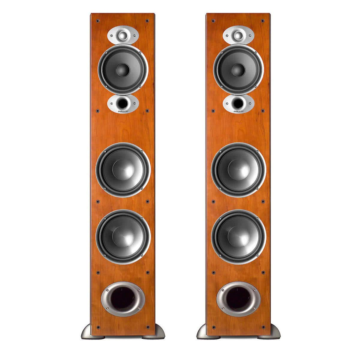 Polk Audio RTiA7 High Performance Floorstanding Loudspeakers - Pair (Cherry) by Polk Audio