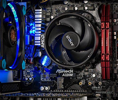 SkyTech Omega Mini Gaming Computer Desktop PC AMD Ryzen 5 1400 3.2 GHz, GTX 1060 3G, 500GB SSD with 3D NAND, 16GB DDR4 2400, A320 Motherboard, Win 10 Home (Ryzen 5 1400 | GTX 1060 3G | 500G SSD) by Skytech Gaming (Image #2)