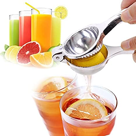 Conception Robuste Convient Pour Jus dorange Demarkt Presse Citron,Manuel Extracteur de jus Presse-agrumes de Citron et dautres Fruits Sans Coque