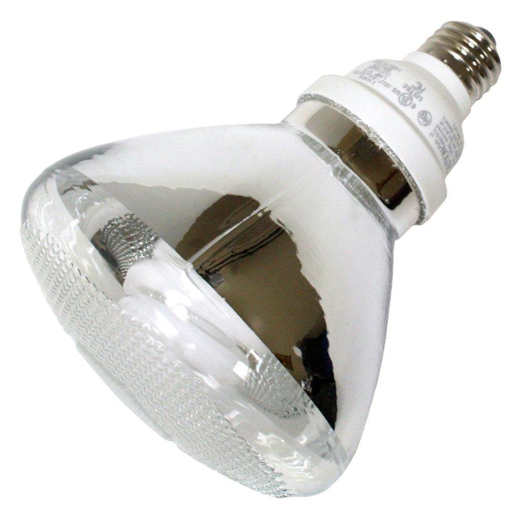 (Case of 12) TCP 1P3823 CFL PAR38 - 90 Watt Equivalent (23W) Soft White (2700K) PAR Flood Light Bulb