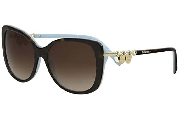 1e61210b4192 Image Unavailable. Image not available for. Color  Tiffany   Co. Womens  Women s Tf4129 56Mm Sunglasses