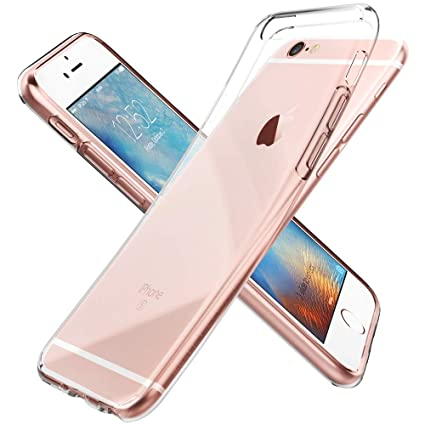 buy popular 033cb e6df2 Spigen Liquid Crystal iPhone 6S Case/iPhone 6 Case with Slim Protection  Soft Clear Case for Apple iPhone 6S / iPhone 6 - Crystal Clear