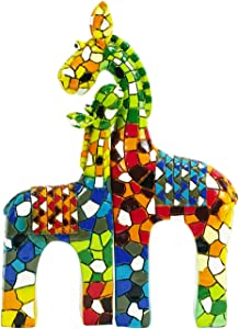 Liffy Gift Giraffe Wall Sculpture Animals Craft Resin is Used for Interior Wall Decoration,Garden Decoration,Bedroom,Living Room,Office