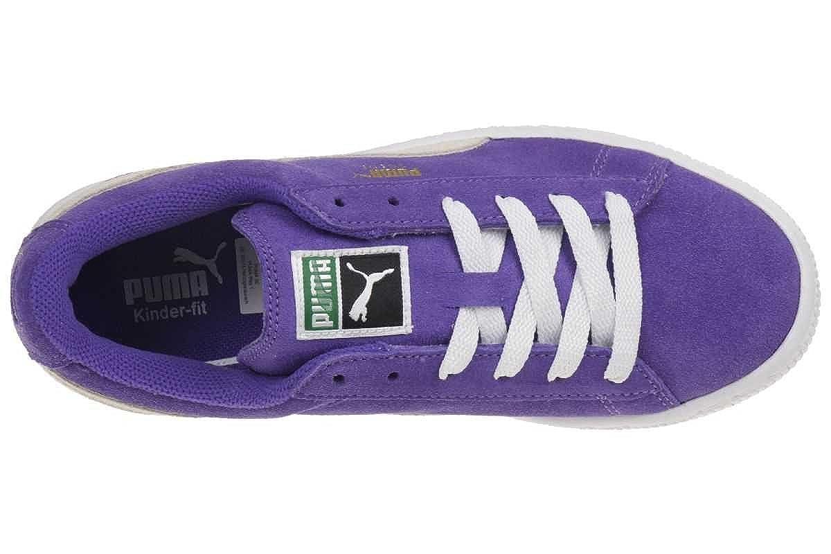 PUMA Suede Kids Baby und Children leather lila 355116 04 purple, pointure:eur 20