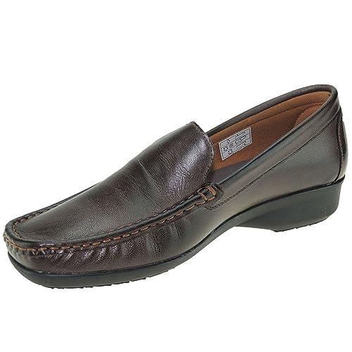 MC Came 1204 Mocasín Piel Cosido para Mujer: Amazon.es: Zapatos y complementos