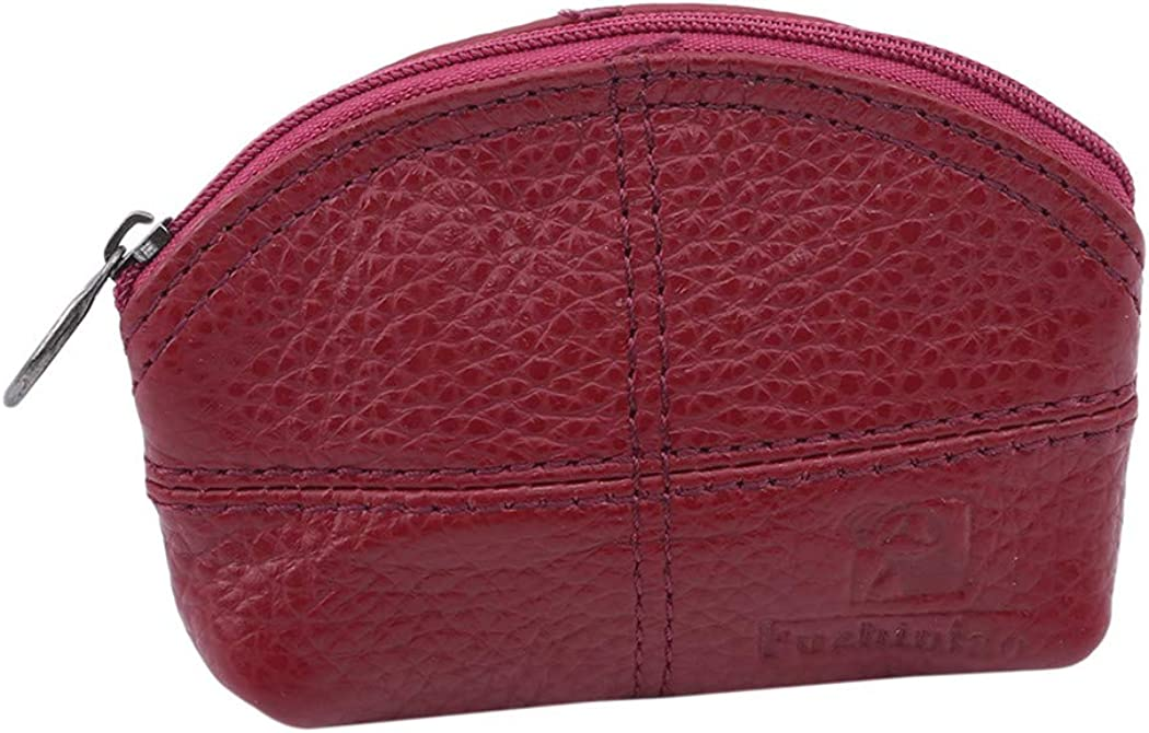 LIUCM Cute Coin Key Case Small Wallet Mini Cute Semicircle Women Men Coin Bag Money Key Storage Purses