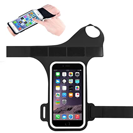 4-6in Running Bag Phone Wristband 180 Degrees Rotatable Touch Screen Mobile Phone Case It For Running Riding Gym Women's Clothing