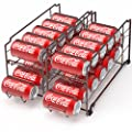 Front Loading Beverage Can Dispenser Rack