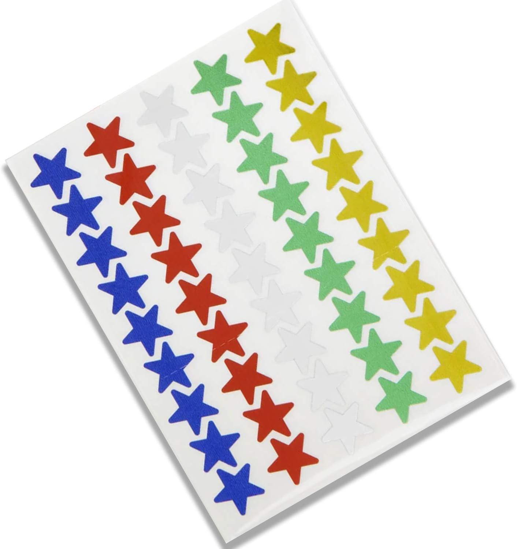 STAR Gratis Adesivi /& Penna Magnetica Comportamento Riutilizzabile ricompensa grafico ARCOBALENO