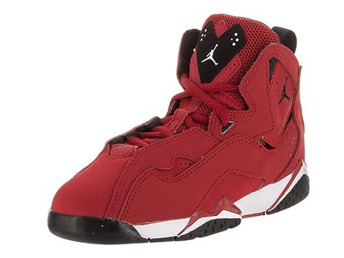 5c572ff02fec03 Nike Jordan Kids Jordan True Flight Bp Gym Red Black White Black Basketball  Shoe 13. 5 Kids US  Buy Online at Low Prices in India - Amazon.in