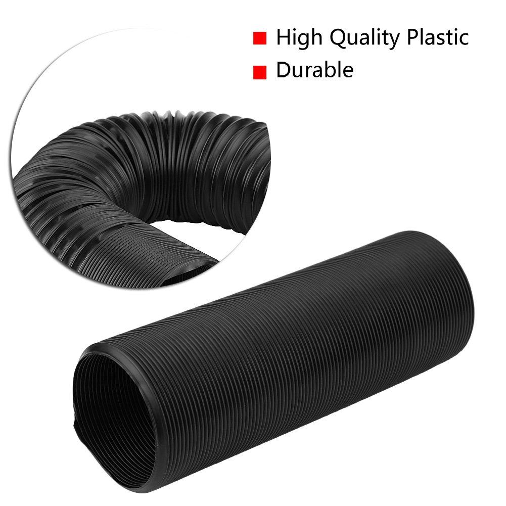 76mm KIMISS 63mm 76mm Tubo di Aspirazione Aria Universale Tubo Flessibile Tubo di Espansione Tubo Flessibile In Silicone Estensibile a 1 Metro