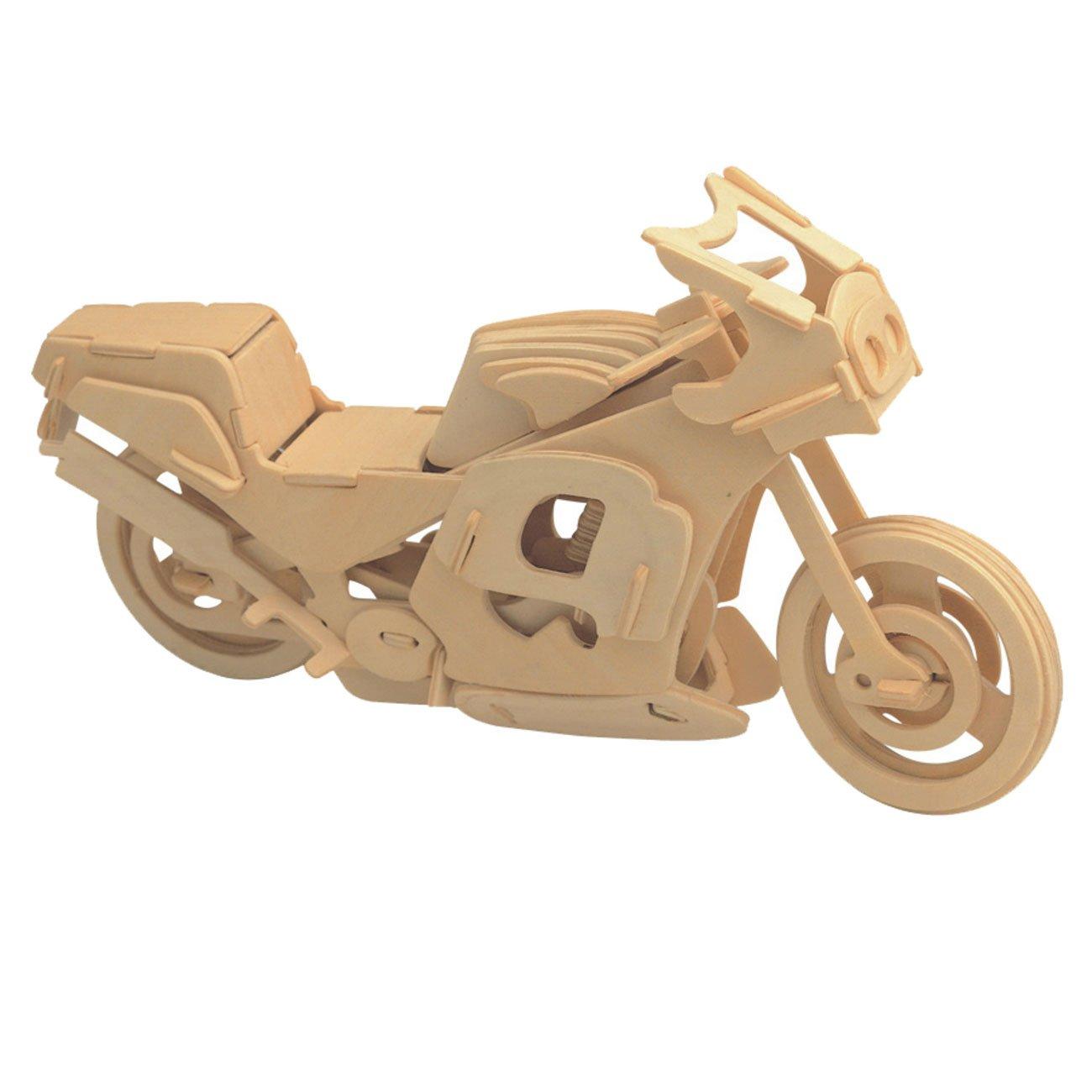豪華で新しい MIFX ウッドクラフト 組み立てキット M-9 子供へのギフト カラーデザイン 教育 DIY ウッドクラフト おもちゃ 3D 組み立て 木製 ジグソーパズル 組み立て ハンドメイド木製モデル M-9 レーシング-バイク B077M4JPPK, mamaruria:ff5ba2b3 --- clubavenue.eu