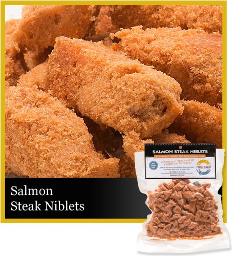Fresh is best freeze dried raw alaskan salmon treats for for Raw fish for dogs
