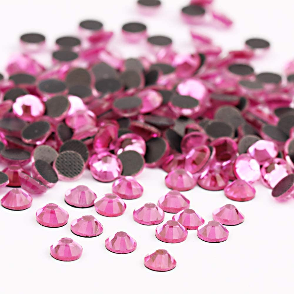 Beadsland Crystal Hotfix Piedras de estr/ás cortadas a m/áquina 1440 unidades