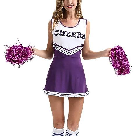 uirend Disfraces Cheerleading Ropa Mujer - Uniformes ...