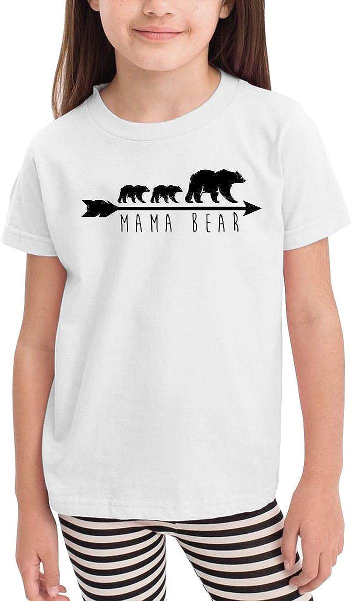 Mama Bear Novelty Toddler//Infant Short Sleeve Shirt Tee Jersey