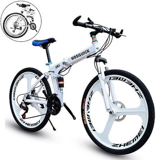 Oanzryybz Bicicletas de montaña Plegable for Hombres y Mujeres, de ...