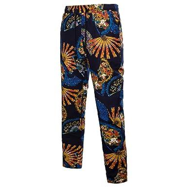 Pantalones de Lino Hombre Talla Grande, Gusspower Pantalones ...