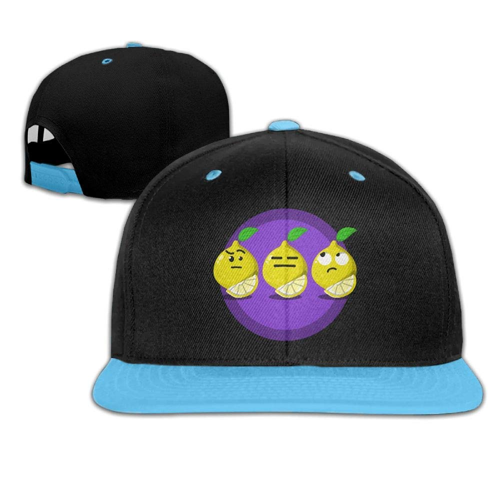 HERSTER Toddler Girls Cartoon Lemon2 Baseball Cap Hats Snapback Hiphop Cap