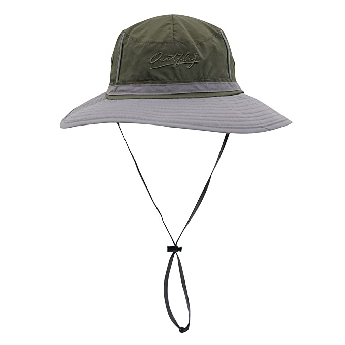 03f4e1443af Magracy Mens Outdoor Wide Brim Sun Hat Summer Bucket Fishing Hats Unisex Boonie  Safari Hat Foldable  Amazon.co.uk  Clothing