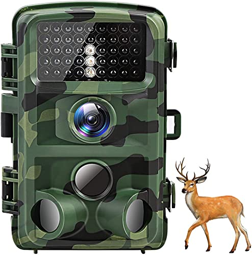 AKASO Trail Camera Game Camera16MP 1080P Waterproof Hunting Scouting Camera TC05