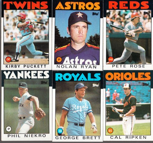 1986 Topps MLB Baseball Complete Mint Hand Collated 792 C...
