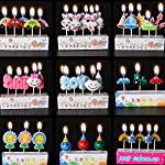 Zongheng Ecape Cartoon Animal Party Candles Cute Candles Handmade Craft Candles Western Cake Decoration Cake Candles 5 Candles a Set