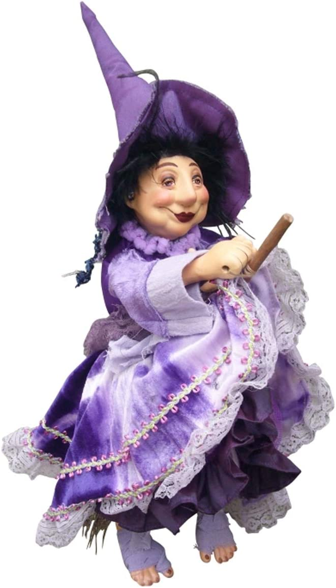 35cm Jennet Device Witch Flying Witches of Pendle Purple
